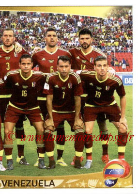 Panini Copa America Centenario USA 2016 Stickers - N° 280 - Equipe Venezuela2