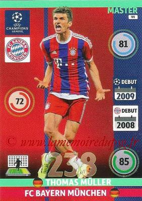 2014-15 - Adrenalyn XL champions League N° 099 - Thomas MULLER (Bayern Munich) (Master)