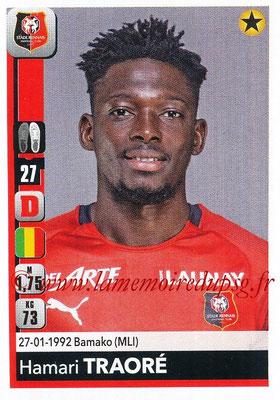 2018-19 - Panini Ligue 1 Stickers - N° 408 - Hamari TRAORE (Rennes)