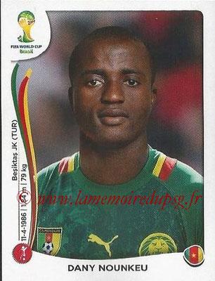2014 - Panini FIFA World Cup Brazil Stickers - N° 094 - Dany NOUNKEU (Cameroun)