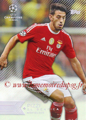 2015-16 - Topps UEFA Champions League Showcase Soccer - N° 058 - PIZZI (SL Benfica)