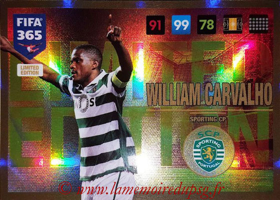 2016-17 - Panini Adrenalyn XL FIFA 365 - N° LE45 - William CARVALHO (Sporting CP)
