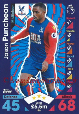 2016-17 - Topps Match Attax Premier League - N° 086