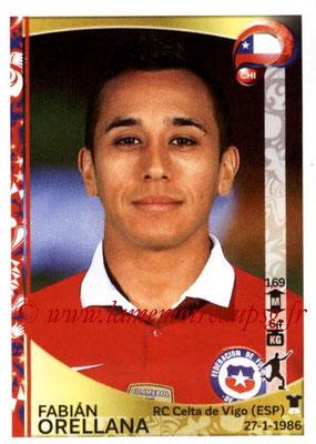 Panini Copa America Centenario USA 2016 Stickers - N° 345 - Fabian ORELLANA (Chili)
