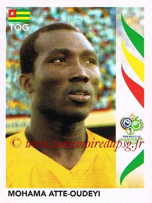 2006 - Panini FIFA World Cup Germany Stickers - N° 516 - Mohama ATTE-OUDEYI (Togo)