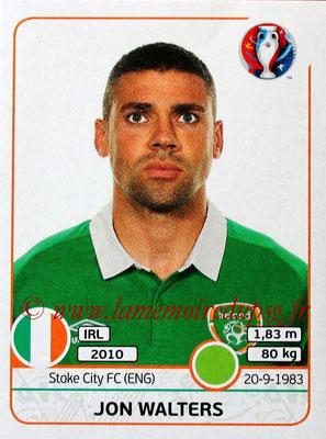 Panini Euro 2016 Stickers - N° 536 - Jon WALTERS (République d'Irlande)