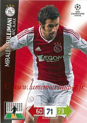 2012-13 - Adrenalyn XL champions League N° 008 - Miralem SULEJMANI (AFC Ajax)