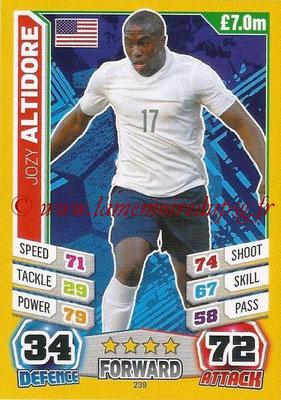 Topps Match Attax England 2014 - N° 239 - Jozy ALTIDORE (Etats-Unis)