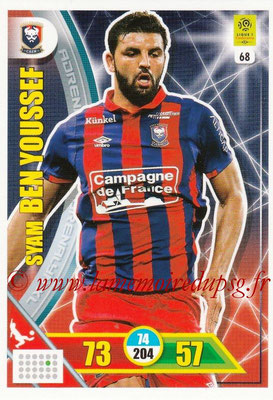 2017-18 - Panini Adrenalyn XL Ligue 1 - N° 068 - Syam BEN YOUSSEF (Caen)