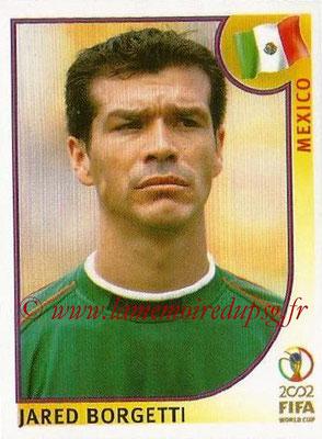 2002 - Panini FIFA World Cup Stickers - N° 510 - Jared BORGETTI (Mexique)