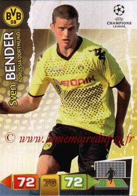 2011-12 - Panini Champions League Cards - N° 074 - Sven BENDER (Borussia Dortmund)