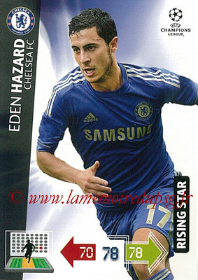 2012-13 - Adrenalyn XL champions League N° 091 - Eden HAZARD (Chelsea FC) (Rising Star)