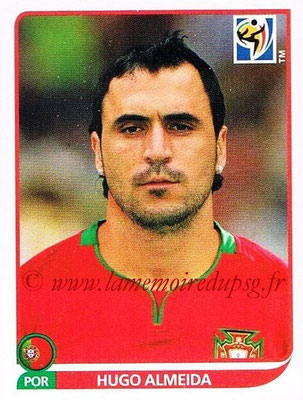 2010 - Panini FIFA World Cup South Africa Stickers - N° 561 - Hugo ALMEIDA (Portugal)