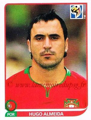 2010 - Panini FIFA World Cup South Africa Stickers - N° 561 - Hugo ALMEIDA (Portugal)