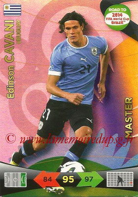 2014 - Panini Road to FIFA World Cup Brazil Adrenalyn XL - N° 230 - Edinson CAVANI (Uruguay) (Master)