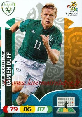 Panini Euro 2012 Cards Adrenalyn XL - N° 186 - Damien DUFF (Eire)