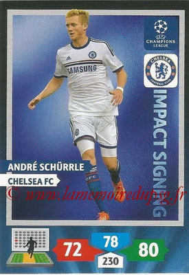 2013-14 - Adrenalyn XL champions League N° 272 - Andre SCHURRLE (Chelsea FC) (Impact Signing)