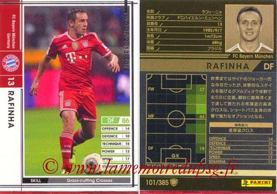 2013-14 - WCCF - N° 101 - RAFINHA (FC Bayern Munich)