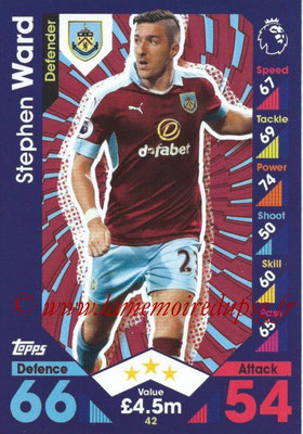 2016-17 - Topps Match Attax Premier League - N° 042