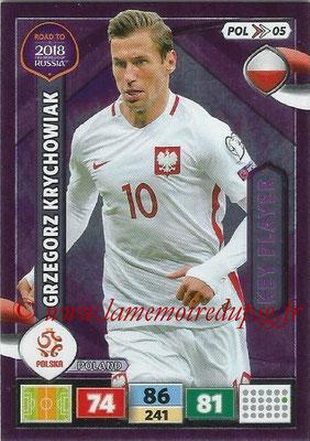 N° POL05 - Grzegorz KRYCHOWIAK (2016-??, PSG > 2017, Pologne) (Key Player)