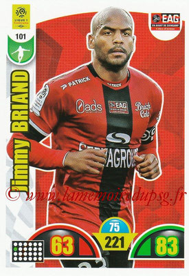 2018-19 - Panini Adrenalyn XL Ligue 1 - N° 101- Jimmy BRIAND (Guingamp)