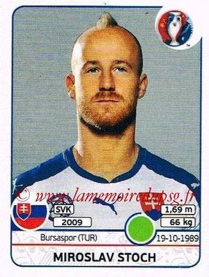 Panini Euro 2016 Stickers - N° 229 - Miroslav STOCH (Slovénie)