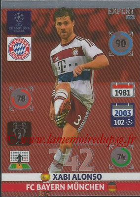 2014-15 - Adrenalyn XL champions League N° 336 - Xabi ALONSO (FC Bayern Munchen) (Expert)