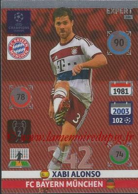 2014-15 - Adrenalyn XL champions League N° 336 - Xabi ALONSO (FC Bayern Munchen) (Expert)