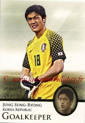 2013 - Futera World Football Unique - N° 006 - Jung SUNG-RYONG (Corée du Sud) (Goalkeeper)