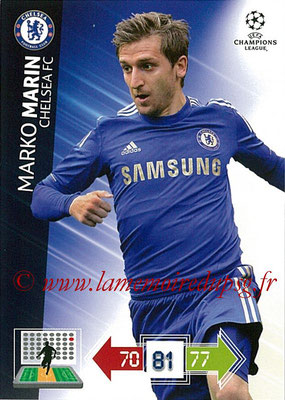 2012-13 - Adrenalyn XL champions League N° 096 - Marko MARIN (Chelsea FC)