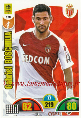 2018-19 - Panini Adrenalyn XL Ligue 1 - N° 178 - Gabriel BOSCHILIA (Monaco)
