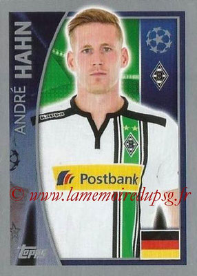 2015-16 - Topps UEFA Champions League Stickers - N° 286 - André HAHN (VfL Borussia Mönchengladbach)