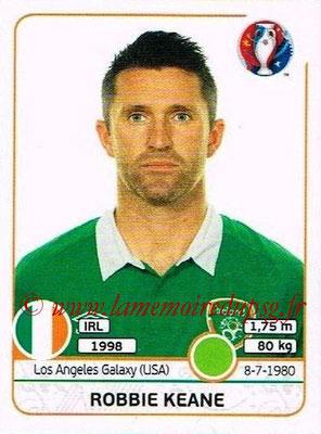 Panini Euro 2016 Stickers - N° 534 - Robbie KEANE (République d'Irlande)