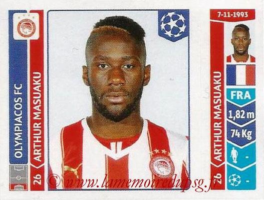 2014-15 - Panini Champions League N° 077 - Arthur MASUAKU (Olympiacos FC)