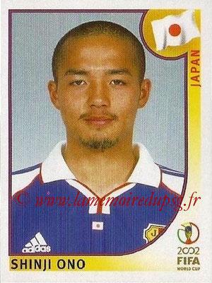 2002 - Panini FIFA World Cup Stickers - N° 543 - Shinji ONO (Japon)