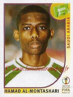 2002 - Panini FIFA World Cup Stickers - N° 336 - Hamad AL-MONTASHARI (Arabie Saoudite)