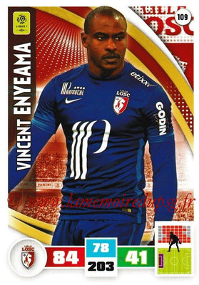 2016-17 - Panini Adrenalyn XL Ligue 1 - N° 109 - Vincent ENYEAMA (Lille)