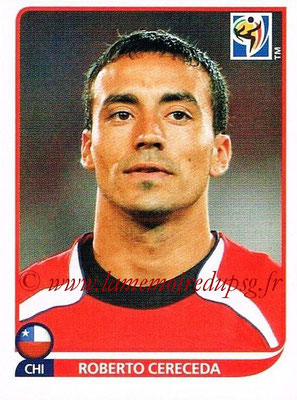 2010 - Panini FIFA World Cup South Africa Stickers - N° 630 - Roberto CERECEDA (Chili)