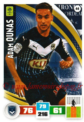 2016-17 - Panini Adrenalyn XL Ligue 1 - N° 044 - Adam OUNAS (Bordeaux)