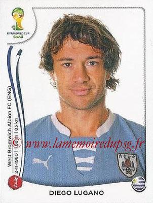 2014 - Panini FIFA World Cup Brazil Stickers - N° 263 - Diego LUGANO (Uruguay)