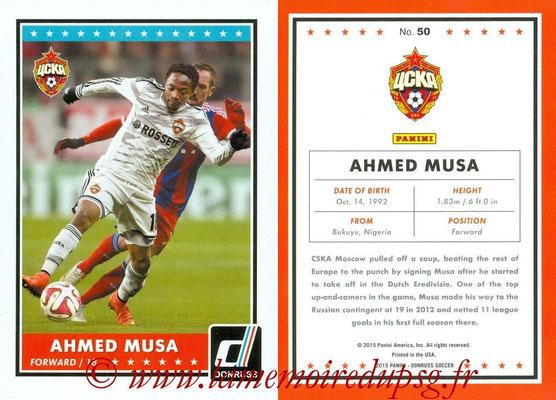2015 - Panini Donruss Soccer - N° 050 - Ahmed MUSA (CSKA Moscou)