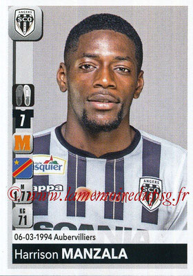 2018-19 - Panini Ligue 1 Stickers - N° 037 - Harrison MANZALA (Angers)