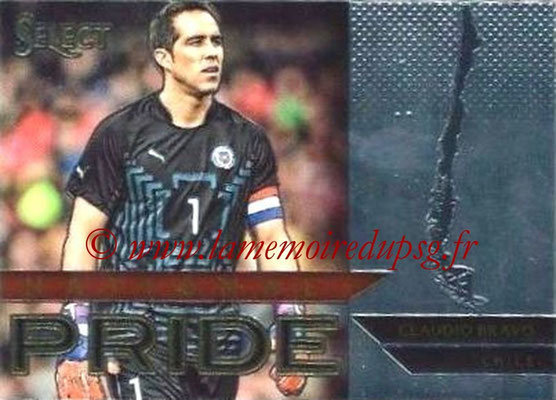 2015 - Panini Select Soccer - N° NP08 - Claudio BRAVO (Chili) (National Pride)