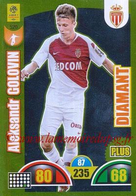 2018-19 - Panini Adrenalyn XL Ligue 1 - N° 520 - Aleksandr GOLOVIN (Monaco) (Diamant Plus)