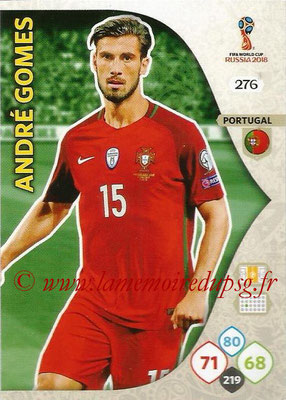 2018 - Panini FIFA World Cup Russia Adrenalyn XL - N° 276 - André GOMES (Portugal)