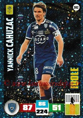 2016-17 - Panini Adrenalyn XL Ligue 1 - N° 382 - Yannick CAHUZAC (Bastia) (Idole)