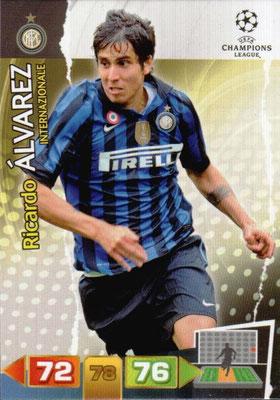 2011-12 - Panini Champions League Cards - N° 114 - Ricardo ALVARES (Inter Milan)