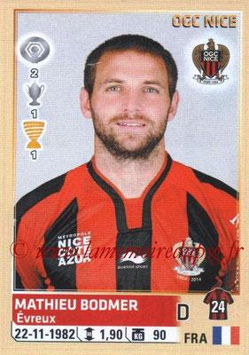N° 343 - Mathieu BODMER (2010-13, PSG > 2014-15, Nice)