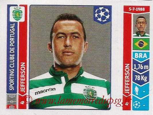 2014-15 - Panini Champions League N° 529 - JEFFERSON (Sporting Club de Portugal)