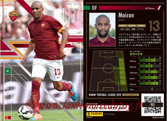 Panini Football League 2015 - PFL13 - N° 018 - MAICON (AS Roma) (Star)